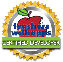 Teachers with apps certification.