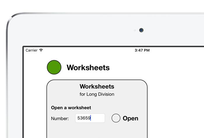 iDevBooks Worksheets help – Open Number Line Worksheets